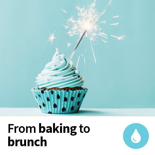 From baking to brunch