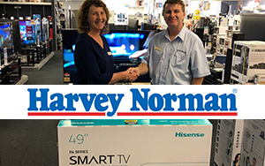 Harvey Norman generously donate technology to Warialda Community College